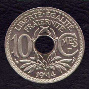 Recto - 10 centimes 1914